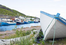 Petty Harbour Fishing Village Stock Photos