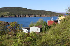 Petty Harbour village Stock Images