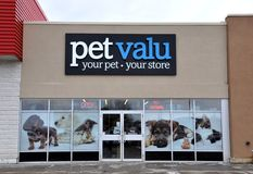 Petvalu store sign Stock Image
