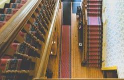 Petworth庄园住宅楼梯 免版税库存图片