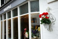 Shop front scene. stock photography