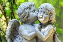 Peu d'ange de couples Image stock