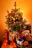 Peu d'arbre de Noël Image libre de droits