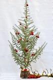 peu d'arbre de Noël Photos stock