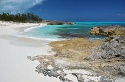 Peu d'Exuma, Bahamas Photographie stock