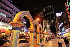Peu d'Inde, Brickfields, Kuala Lumpur, Malaisie Image stock