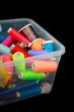 Peu de bobines colorées intéressantes dans le cadre Image libre de droits