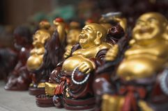 Peu de Buddhas Images libres de droits