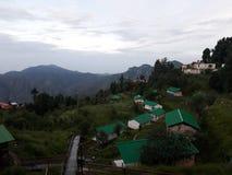 Peu de camp de Jaguar, Kanatal Image stock