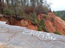 Peu de canyon grand Image libre de droits