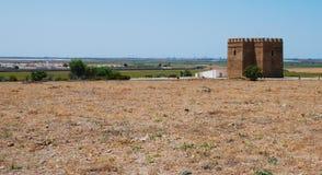 Peu de château dans la campagne andalouse Photographie stock libre de droits