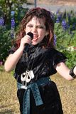 Peu de chanteur punk Images stock