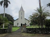 Peu de chapelle dans Maui Image libre de droits