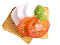 Peu de déjeuner italien Photo libre de droits