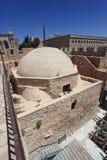 Peu de dôme de mosquée de promenade de remparts Images libres de droits