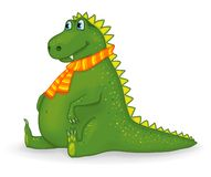 Peu de dragon drôle Image libre de droits