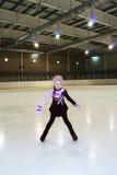 Peu de figure patineur Image stock