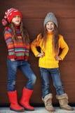 Peu de filles de mode Image libre de droits