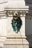 Peu de fontaine près de cathédrale Zagreb Image libre de droits