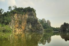 Peu de Guilin, Singapour Images stock