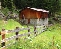 Peu de hutte Image stock