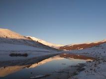 Peu de lac Image libre de droits