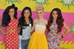 Peu de mélange, Perrie Edwards, Jesy Nelson, Jade Thirlwall, Leigh-Anne Pinnock Photos libres de droits