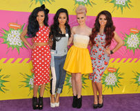 Peu de mélange, Perrie Edwards, Jesy Nelson, Jade Thirlwall, Leigh-Anne Pinnock Image stock