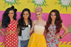 Peu de mélange, Perrie Edwards, Jesy Nelson, Jade Thirlwall, Leigh-Anne Pinnock Photographie stock libre de droits