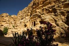 Peu de PETRA, Jordanie Photo libre de droits
