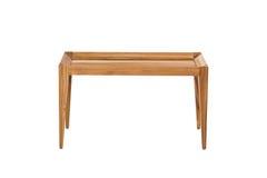 peu de place et bois de table photographie stock libre de droits
