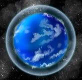 Peu de planète océanique illustration stock