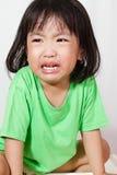 Peu de pleurer chinois d'Asain photos libres de droits