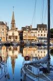 Peu de port français Photos libres de droits