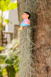 Peu de poupée thaïlandaise photographie stock libre de droits