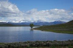 Peu de réservoir de Camas, Idaho Image libre de droits