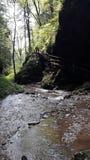 Peu de rivière Photos stock