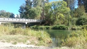 Peu de rivière de Spokane Image stock