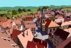 Peu de toun allemand Image libre de droits