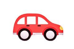 Peu de véhicule rouge photos stock