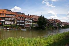 Peu de Venise à Bamberg Photo stock
