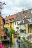 Peu de Venise à Colmar, France Photo stock