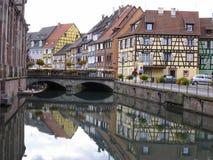 Peu de Venise Colmar - Alsace Images libres de droits