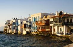 Peu de Venise dans Mykonos Photos libres de droits