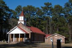 Peu de vieille église Image stock