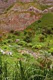 Peu de vieille maison dans Cabo Verde Image libre de droits
