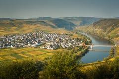 Peu de ville de la Moselle Photos libres de droits