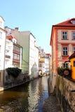Peu de voie d'eau de Prague Venise à Prague photos libres de droits