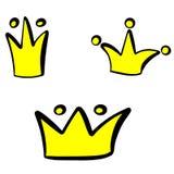 Peu illustration de vecteur de couronne de princesse illustration libre de droits