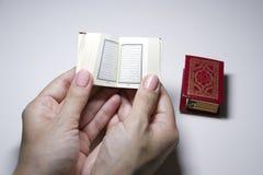 Peu Quran de livre image stock